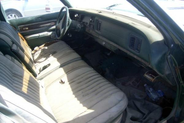 1975 Dodge Monaco Interior