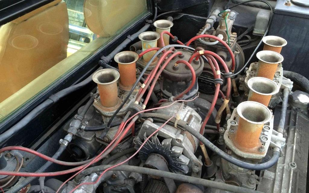 1975 Lamborghini Urraco Engine