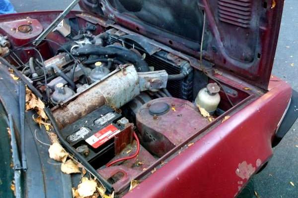 1976 Triumph TR7 Engine