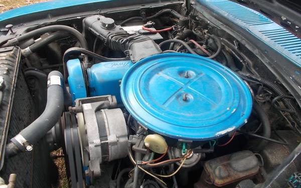 1980 Ford Pinto Truck Engine