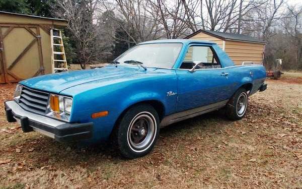 1980 Ford Pinto Truck