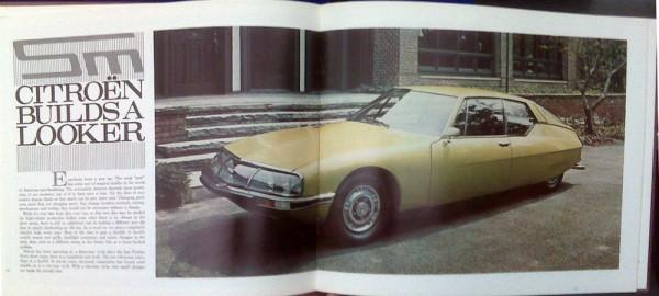 Automobile Quarterly - Citroen SM