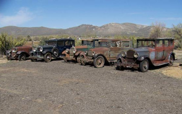 Barn Finds in Carson City