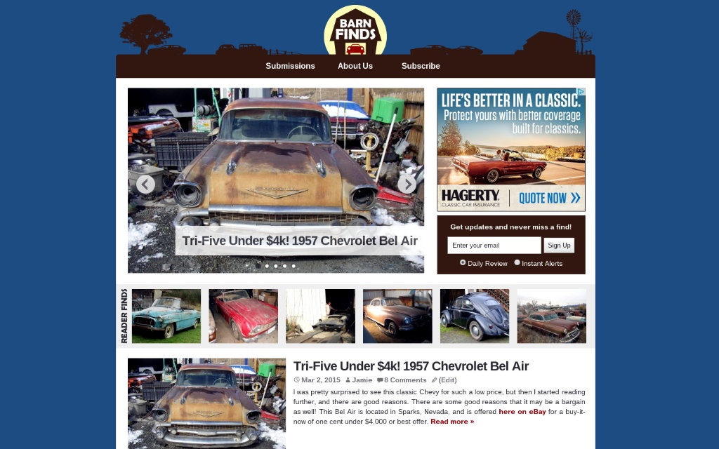 BarnFinds Homepage