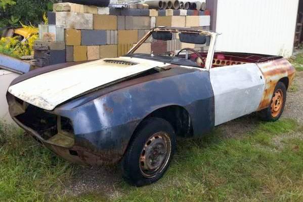 Lancia Fulvia Zagato Spider