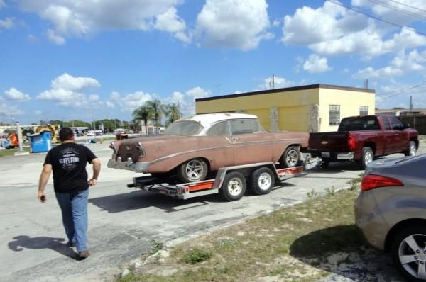 Picking Up 1956 Bel Air