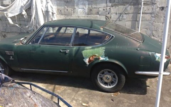 Rusty 1968 Fiat Dino Coupe