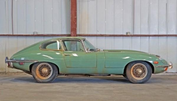Willow Green 1970 Jaguar XKE