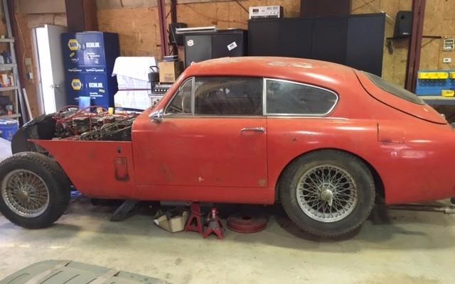1958 Aston Martin DB2 4