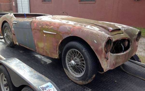 1959 Austin Healey project