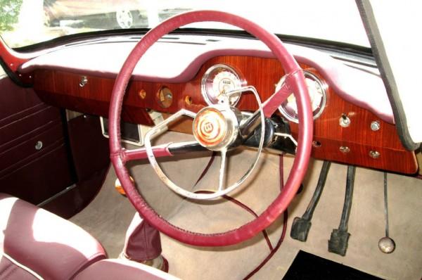 1960 Wolseley 15-60 Interior