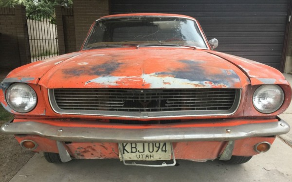 1965 Mustang grill