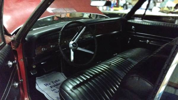 1967 Pontiac Catalina Convertible Interior