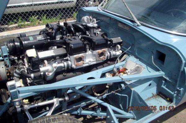 1972 Jaguar V12 E-Type Engine
