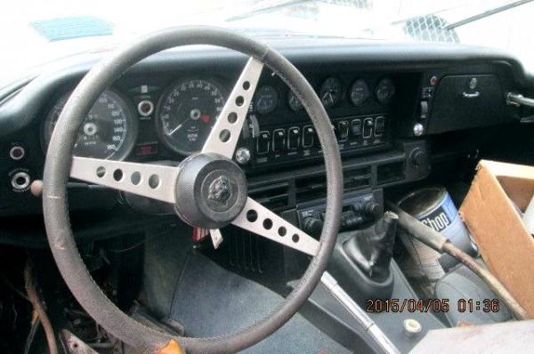 1972 Jaguar V12 E-Type Interior