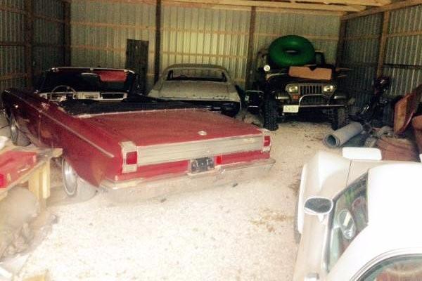Dodge Coronet Farm Find