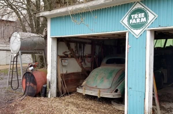 Tree Farm Barn Find