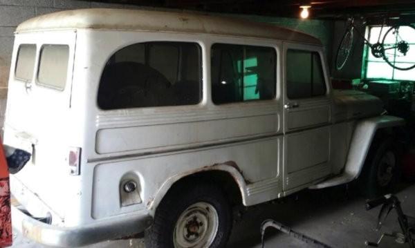 Willys Wagon Barn Find