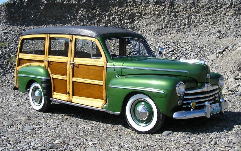 1948 Ford Woodie