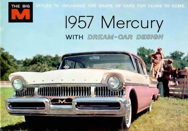 1957 Mercury Monterey Ad
