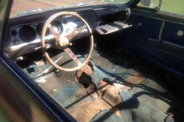 1964 Chevelle Convertible Interior