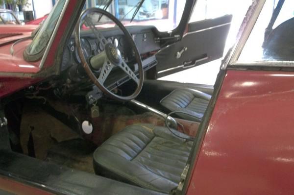 1969 Jaguar XKE Interior