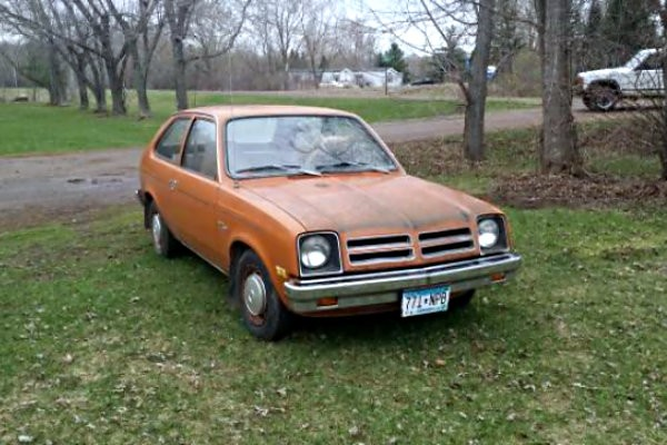 1976 chevrolet chevette rare survivor 1976 chevrolet chevette rare survivor
