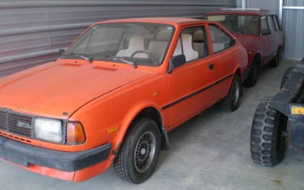 1985 Skoda Rapid Coupe