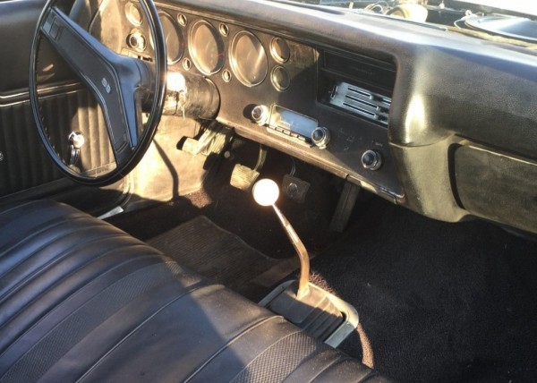 Bench seat and four speed