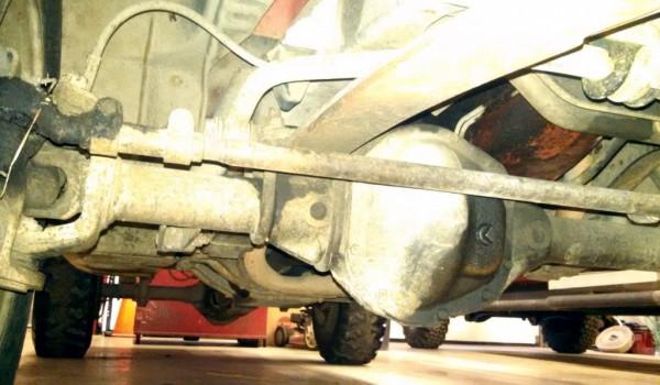 Chevy C20 Underside