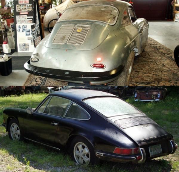 Porsche 356 and 911