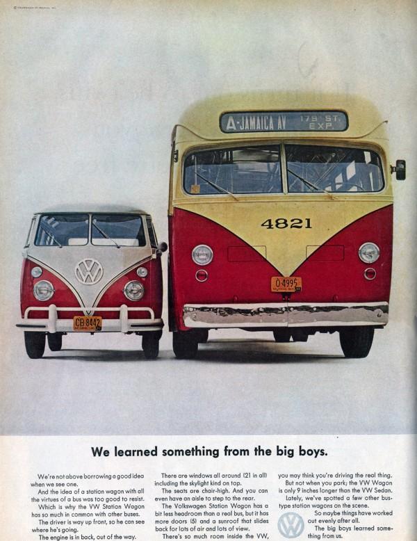 VW Bus Ad