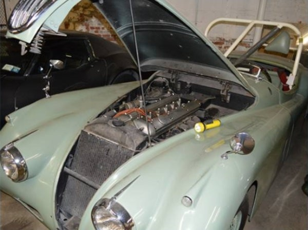1955 Jaguar XK140 Race Car