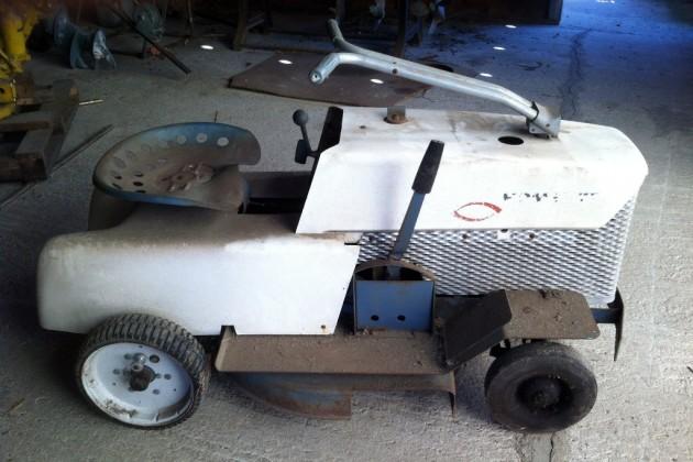 Homelite Mower Car