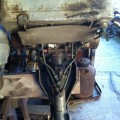 Early Elto & Evinrude twin outboard motor