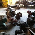 Various small engines.