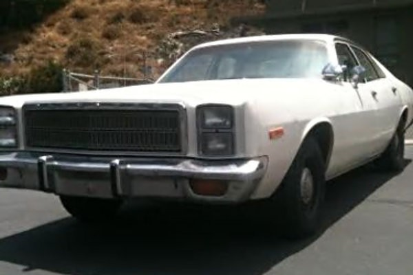 Plymouth Fury Police Pursuit