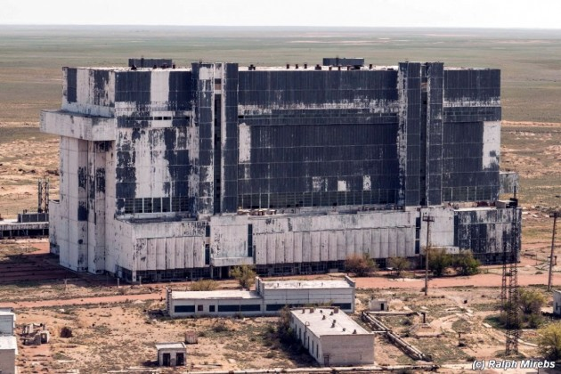 Russian Shuttle Hangar