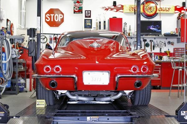 Sid's Corvette