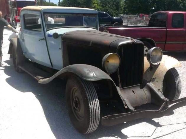 1932 Auburn Mark V 160