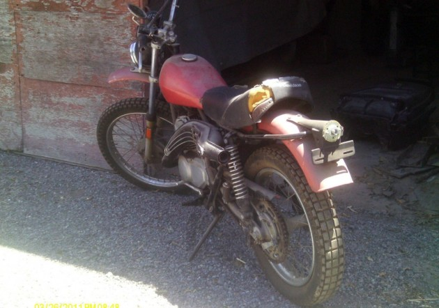1975 Harley Davidson SX250