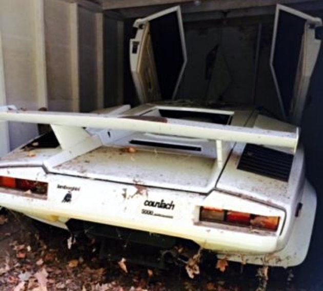 1985 Lamborghini Countach Barn Find