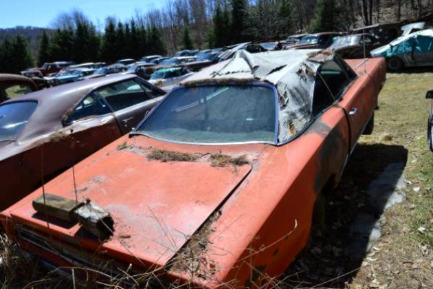 Junkyard Sale in Vermont