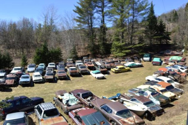 Junkyard Sale in Vermont overview