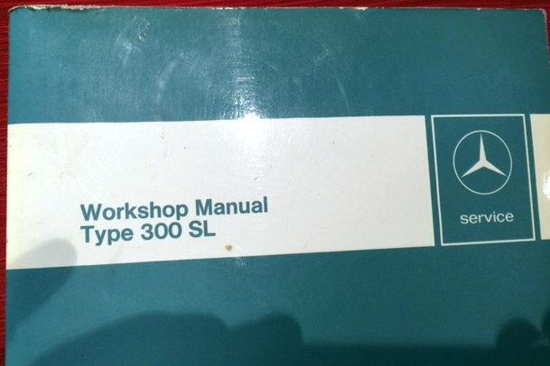 Mercedes 300 SL Workshop Manual