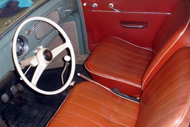1957 Beetle Interior