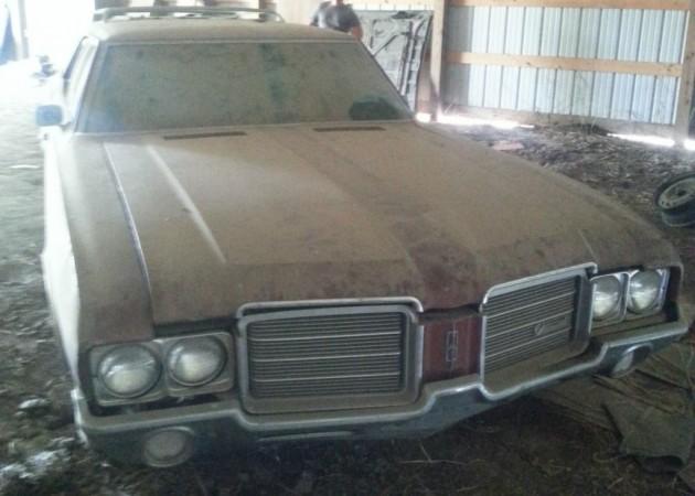 1971 Oldsmobile Wagon Barn Find