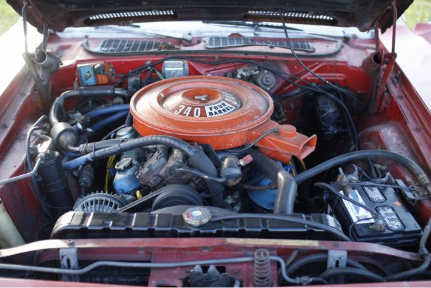 1972 Barracuda 340 Engine