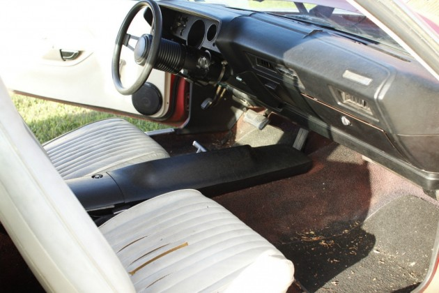 1972 Barracuda 340 Interior