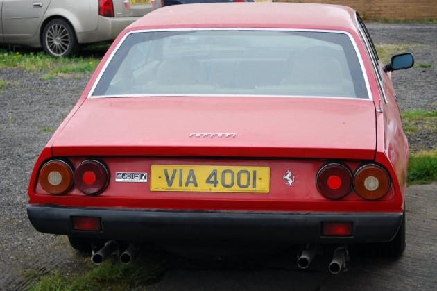 Ferrari 400i Rear